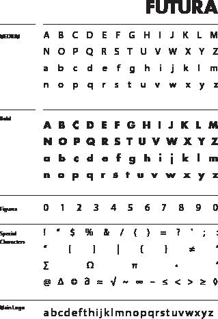 Futura Typefaces
